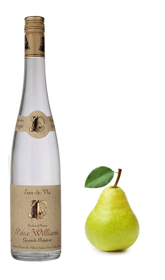 Eaux de vie d 39 alsace poire williams for Alcool de poire maison